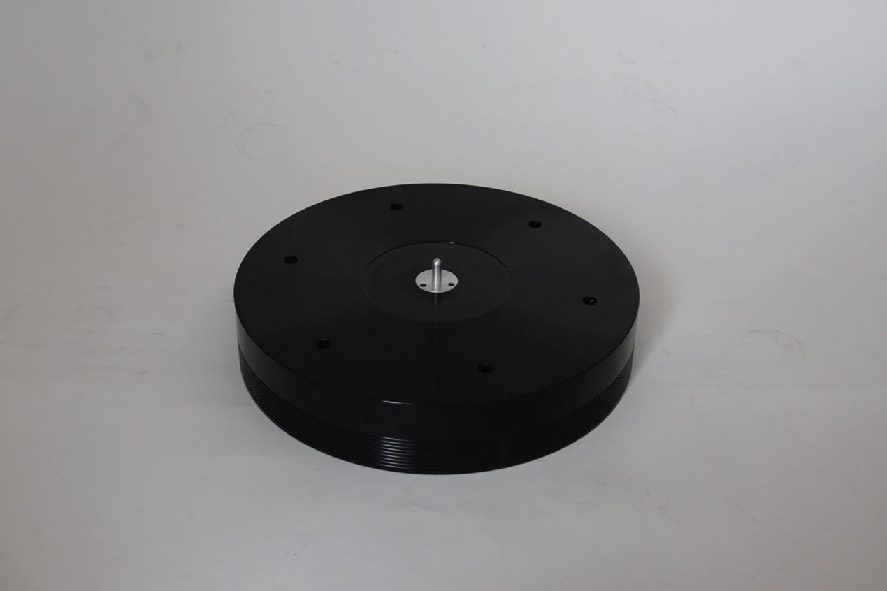 60MM铝合金气浮黑胶转盘+气泵套件A